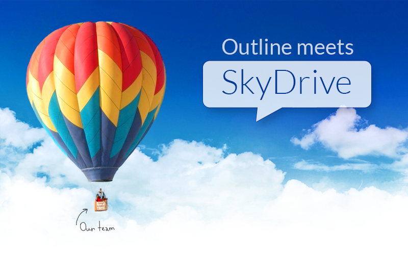 Outline+SkyDrive